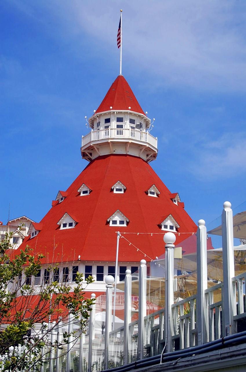 Coronado Island Hotels: The Hotel Del Coronado