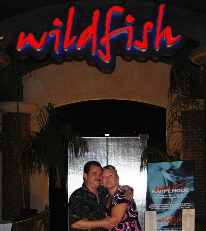 The ulrich family visits scottsdale arizona for Wild fish scottsdale