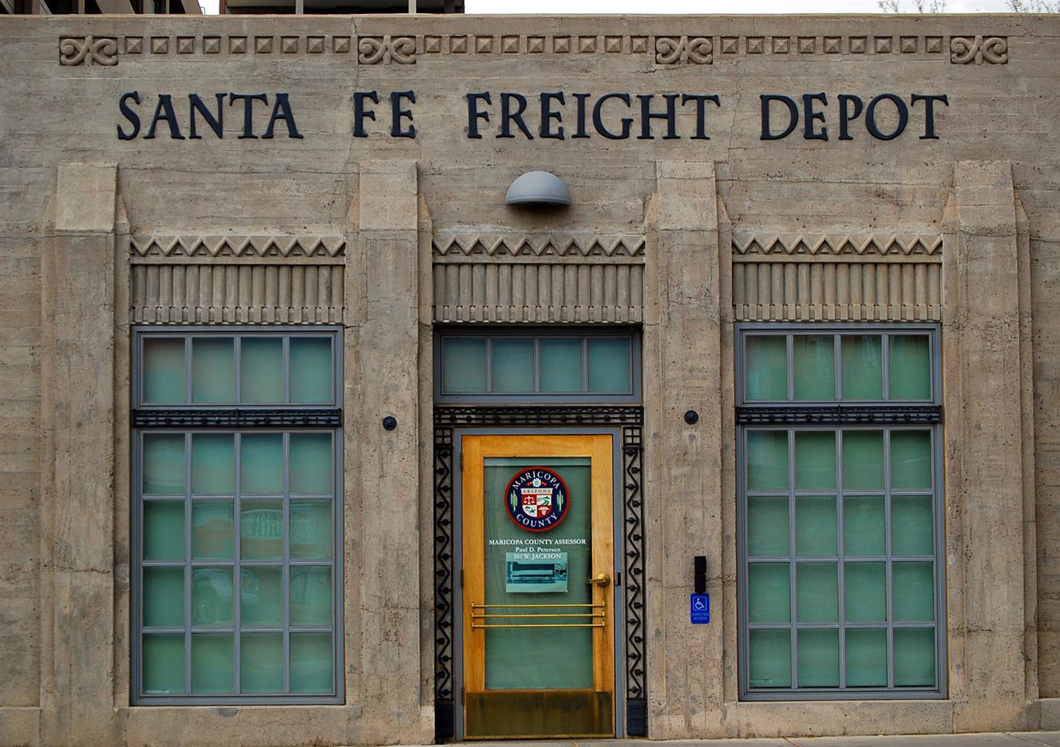 Santa Fe Freight Depot Phoenix Arizona