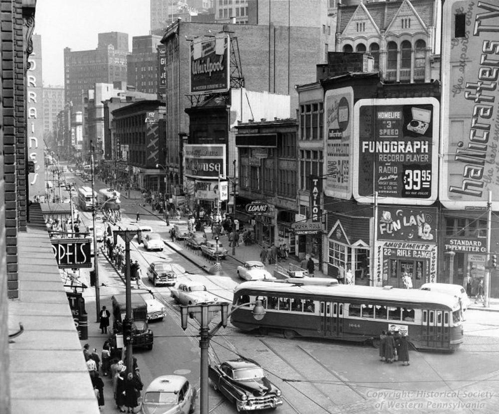Pittsburgh In The 1950 S